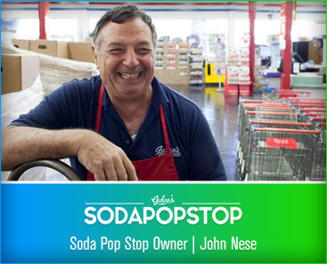 Soda Pop Stop Owner John Nese
