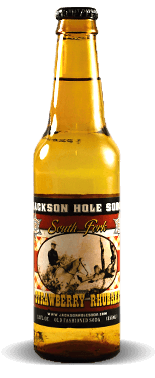 Jackson Hole Soda Co. Strawberry Rhubarb | Soda Pop Stop