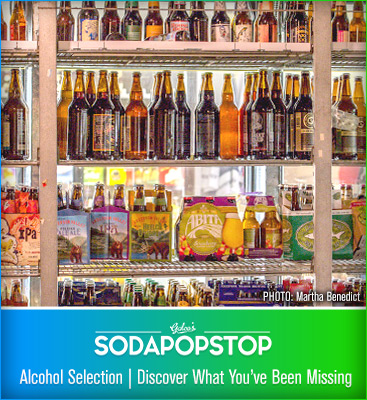 Soda Pop Stop - Alcohol Selection