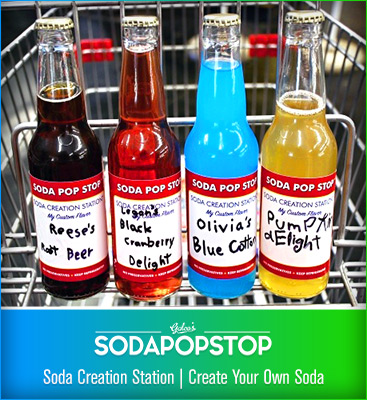 Soda Pop Stop - Create Your Own Soda