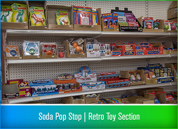 Soda Pop Stop - Retro Toy Section