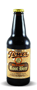 Boston Tower Root Beer	– Soda Pop Stop