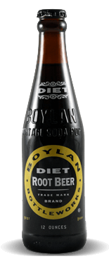 Boylan Bottleworks Diet Root Beer	– Soda Pop Stop