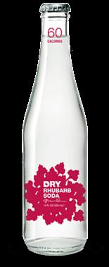 Dry Soda: Rhubarb - Soda Pop Stop