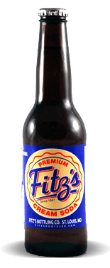 Fitz's Bottling Co. Premium Micro-Brewed Cream Soda - Soda Pop Stop