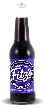 Fitz's Bottling Co. Premium Micro-Brewed Grape Pop - Soda Pop Stop