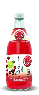 Gus (Grown-Up Soda) Dry Cranberry Lime – Soda Pop Stop