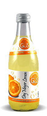 Gus (Grown-Up Soda) Dry Meyer Lemon - Soda Pop Stop