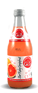 Gus (Grown-Up Soda) Star Ruby Grapefruit Soda - Soda Pop Stop