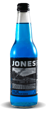 Jones Soda Co. Blue Bubble Gum – Soda Pop Stop