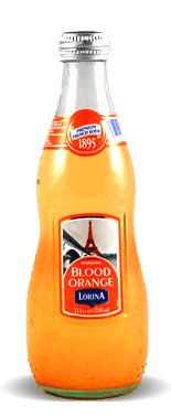 Lorina Sparkling Blood Orange Premium French Soda - Soda Pop Stop