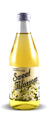 Sweet Blossom Soda - Elderflower - Soda Pop Stop
