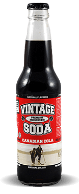 Vintage Soda Microbrew Canadian Cola - Soda Pop Stop