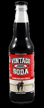 Vintage Soda Microbrew Canadian Cola – Soda Pop Stop