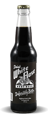 White Rose Springs Root Beer Soda – Soda Pop Stop