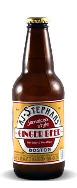 AJ Stephans Jamaican Style Ginger Beer – Soda Pop Stop