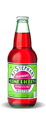 AJ Stephans Raspberry Lime Rickey – Soda Pop Stop