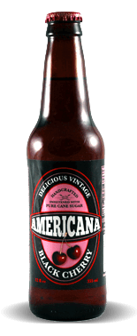 Americana Black Cherry - Soda Pop Stop