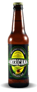 Americana Honey Lime Ginger Ale - Soda Pop Stop