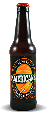 Americana Orange Cream - Soda Pop Stop