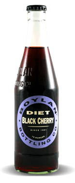 Boylan Bottleworks Diet Black Cherry – Soda Pop Stop