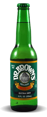 Dr. Brown's Extra Dry Ginger Ale – Soda Pop Stop