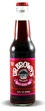 Dr. Brown's Black Cherry - Soda Pop Stop