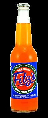 Fitz's Premium Orange Pop – Soda Pop Stop