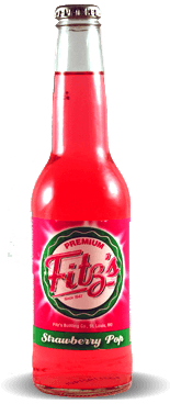 Fitz's Premium Strawberry Pop – Soda Pop Stop