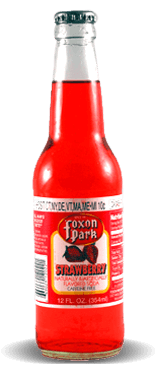 Foxon Park Strawberry Soda – Soda Pop Stop