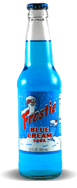 Frostie Blue Cream Soda – Soda Pop Stop