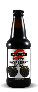 Hotlips Soda Black Raspberry Soda – Soda Pop Stop