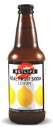 Hotlips Soda Lemon Soda - Soda Pop Stop