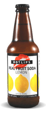 Hotlips Soda Lemon Soda – Soda Pop Stop