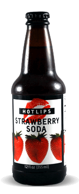 Hotlips Soda Strawberry Soda – Soda Pop Stop