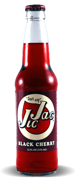Jic Jac Black Cherry - Soda Pop Stop