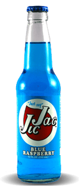Jic Jac Blue Raspberry – Soda Pop Stop