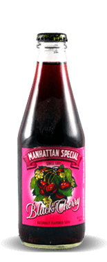 Manhattan Special Black Cherry Naturally Flavored Soda - Soda Pop Stop