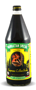 Manhattan Special Diet-Decaffeinated Espresso Coffee Soda – Soda Pop Stop