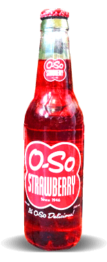 O-So Strawberry – Soda Pop Stop