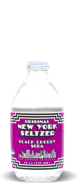 Original New York Seltzer - Black Cherry Soda - Soda Pop Stop