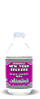 Original New York Seltzer – Black Cherry Soda – Soda Pop Stop