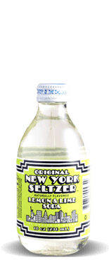 Original New York Seltzer – Lemon & Lime Soda – Soda Pop Stop