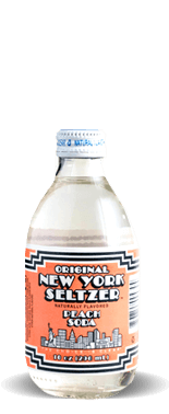 Original New York Seltzer – Peach Soda – Soda Pop Stop