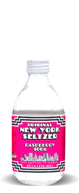 Original New York Seltzer – Raspberry Soda – Soda Pop Stop