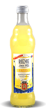 Rieme Lemon Sparkling Limonade – Soda Pop Stop
