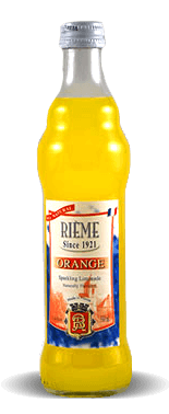 Rieme Orange Sparkling Limonade With Natural Orange Essence – Soda Pop Stop