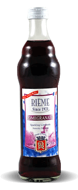 Rieme Pomegranate Sparkling Limonade With Natural Pomegranate Essence – Soda Pop Stop