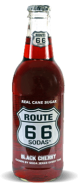 Route 66 Sodas Black Cherry - Soda Pop Stop