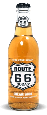 Route 66 Sodas Cream Soda – Soda Pop Stop